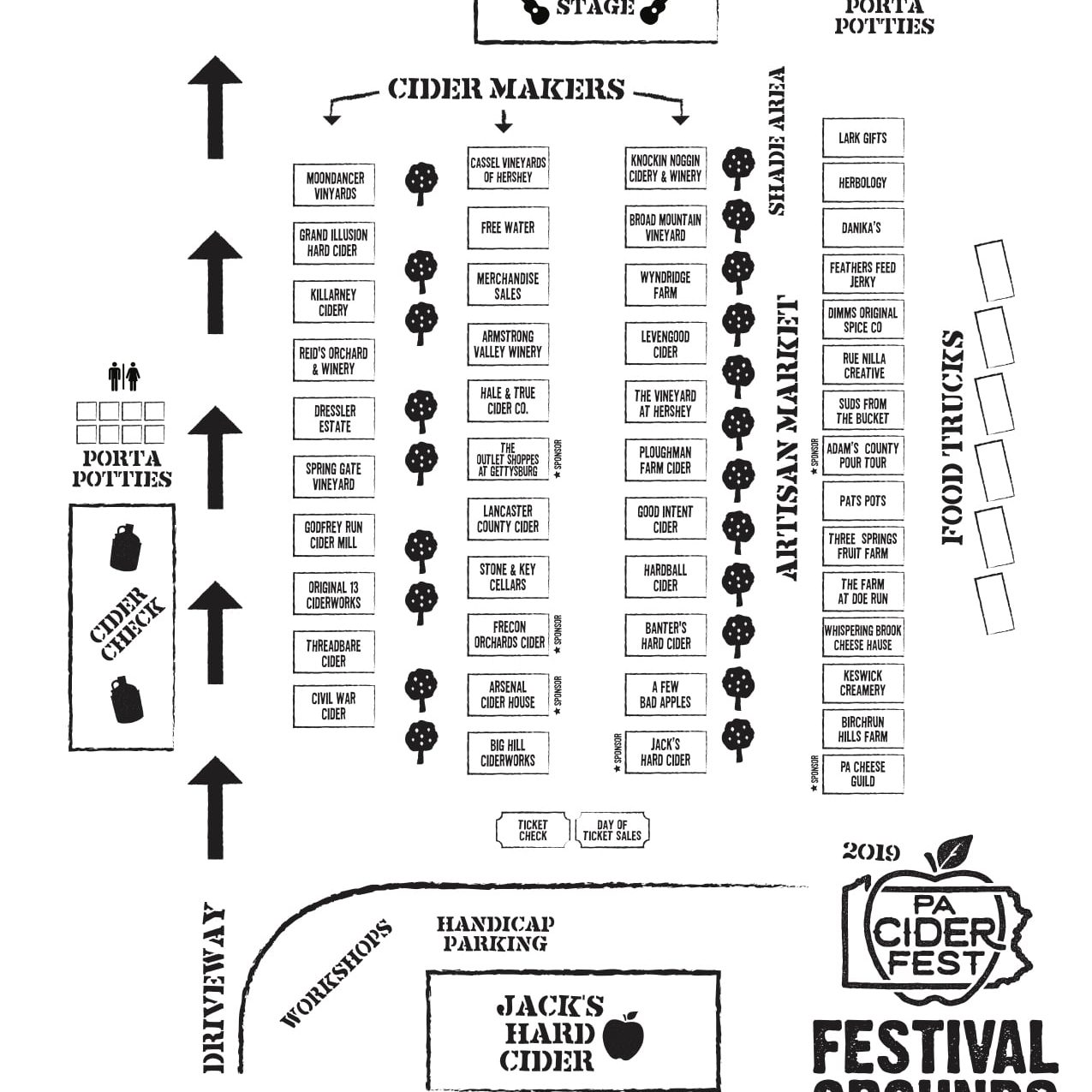 PA Cider Festival 2019 - Cider-Tasting in Gettysburg PA on gettysburg pennsylvania on us map, pennsylvania regions map, gettysburg manufacturing map, downtown gettysburg pa map, norhteast and southeast map, gettysburg trail map, winery map, gettysburg tourism map,